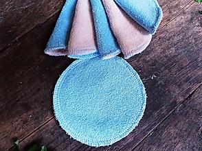 Drogéria - Kozmetický tampon modrý 10 ks - 13678923_