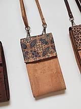 Kabelky - Púzdro - Mini corki - 13681471_