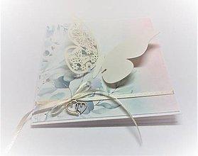 Papiernictvo - Pohľadnica ... na krídlach motýľa  - 13685180_