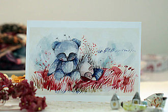 Grafika - Dobrú noc/ print - 13684570_