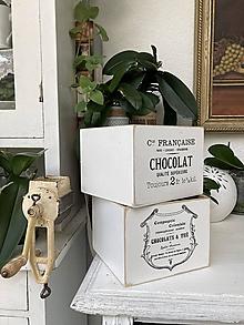 Nábytok - Box Chocolat - 13683584_