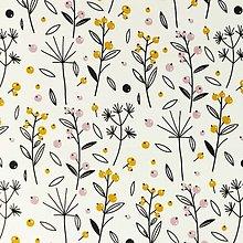 Textil - lesné plody, 100 % bavlna Holandsko, šírka 150 cm - 13683652_