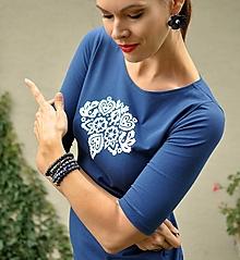 Šaty - Šaty Ľubieta Blue - 13683468_