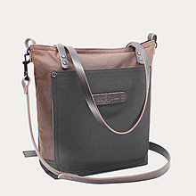 Kabelky - Dámská kabelka HARMONY BROWN 4 - 13684576_