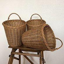 Košíky - závesné košíky na želanie - 13682560_