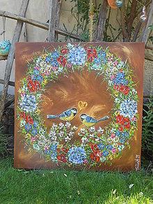 Obrazy - V kruhu šťastia a lásky - 13683589_
