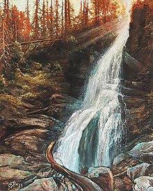 Obrazy - Roháčsky vodopád - 13690382_