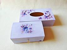 Krabičky - Drevené krabičky- sada - 13688694_