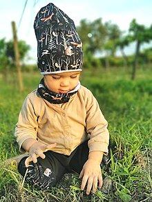 """Detské čiapky - Jednovrstvová čiapka""""horou hlbokou"""" - 13689157_"""