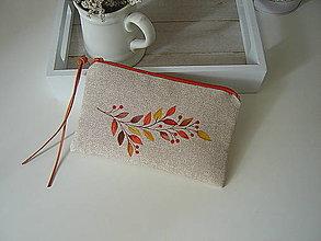 Taštičky - Kosmetická taštička s větvičkou - 13689865_
