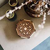 Krabičky - Drevená krabička - Orient - 13690147_