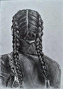 Kresby - Dutch braids - 13690418_