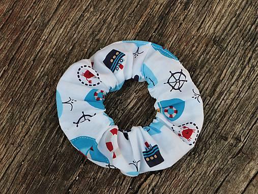 Scrunchies gumička námorník