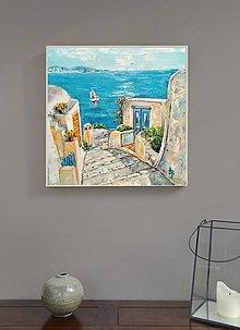 Obrazy - Santorini - 13691971_