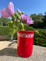 Nádoby - Váza či pohár na kefky - 13691495_