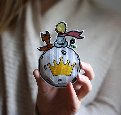 Nažehlovačka Malý Princ a líška
