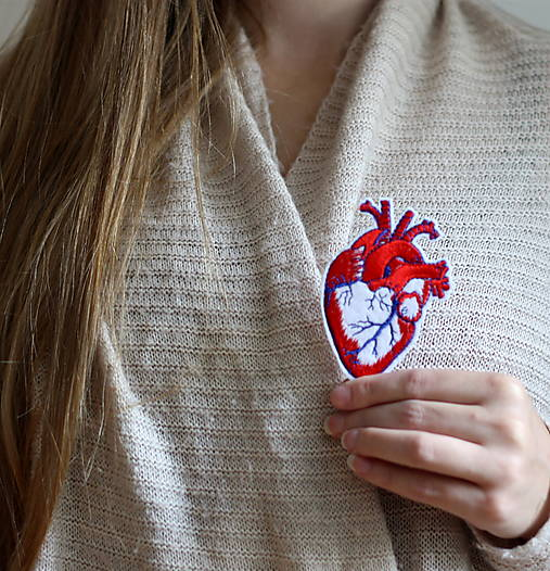 Nažehlovačka Srdce