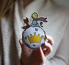 Galantéria - Nažehlovačka Malý Princ a líška - 13693397_