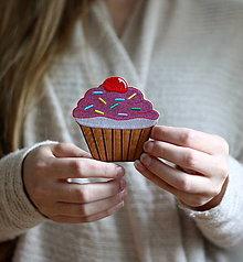 Galantéria - Nažehlovačka Muffin - 13693555_
