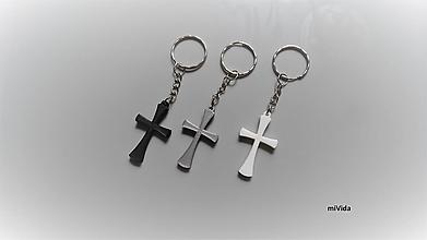 Kľúčenky - Kľúčenka - kríž - 13691263_