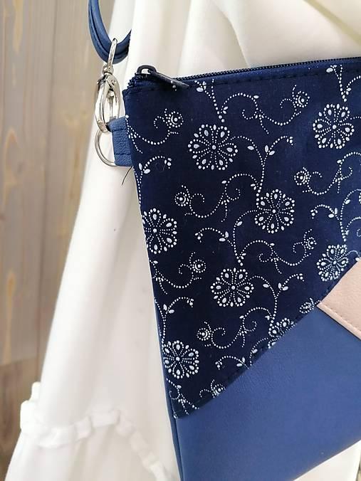 modrotlačová kabelka Hana 2