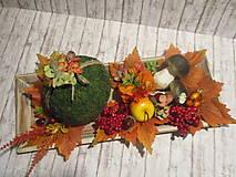 Dekorácie - Jesenná dekorácia - 13696352_