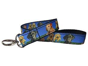Kľúčenky - Kľúčenka Labrador - 13696372_