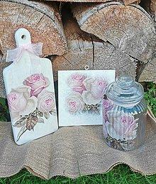 Dekorácie - Súprava Ruže - 13696776_