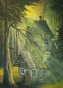 Obrazy - V lesnom svetle - 13693994_