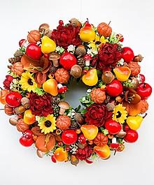 Dekorácie - Jesenný veniec - 13694228_