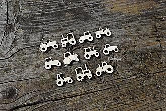 Detské doplnky - mini traktory..11ks - 13697582_