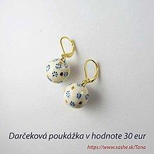 Iné šperky - Tana šperky - keramika/zlato, darčeková poukážka - 13699192_