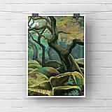 Grafika - Tajomný les  - 13697526_