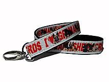 Kľúčenky - Kľúčenka I Love German Shepherds - 13703353_