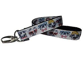 Kľúčenky - Kľúčenka Dogs With Glasses - 13703360_