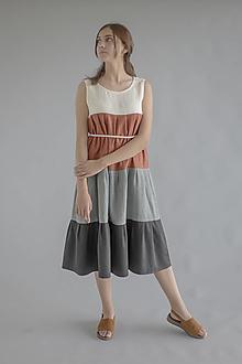 Šaty - Robe de Lin V - 100% ľan - 13703238_