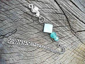 Iné šperky - Záložka do knihy morský koník - 13702857_