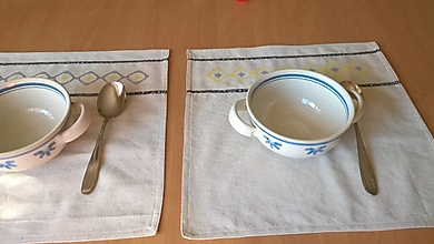 Úžitkový textil - Prestieranie, dečka - 36x37cm - jednovrstvová - 13702246_