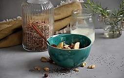- miska müsli, bowl, príroda  - 13702389_