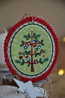Dekorácie - Vianočné ozdoby (Stromček) - 13705181_