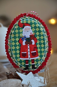 Dekorácie - Vianočné ozdoby (Mikuláško) - 13705186_