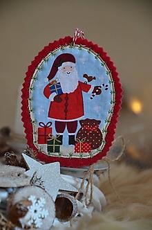 Dekorácie - Vianočné ozdoby (Ježiško) - 13705202_