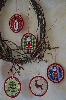 Dekorácie - Vianočné ozdoby (Sada 6 ks) - 13705208_