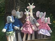 Hračky - žirafky Nini a Mimi - 13703561_