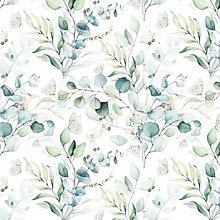 Textil - herbár, extra kvalitný 100 % bavlnený perkál, šírka 160 cm - 13707480_