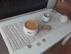 Úžitkový textil - Prestieranie štóla prírodná - 13706614_