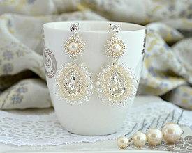 Náušnice - Amazing Pearl (Ag925) - 13707647_