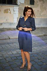 Šaty - ŠATY DALIA - ĽAN - 13707371_