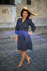 Šaty - ŠATY DALIA - ĽAN - 13707373_