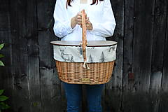 Košíky - Piknikový kôš LES N°1 - 13707020_